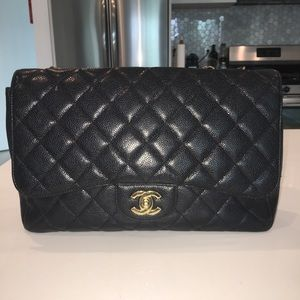 c6a66dbaeb4533 Women's Chanel Gold Flap Bag on Poshmark